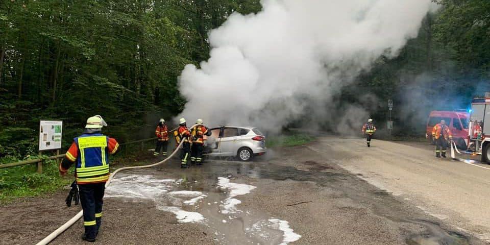 Einsatz Fahrzeugbrand | Freiwillige Feuerwehr Spiegelberg