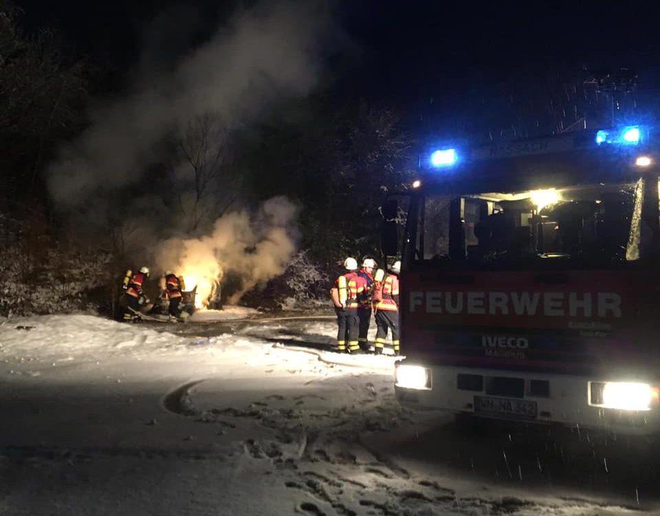 Feuerwehr Spiegelberg Hauptübung