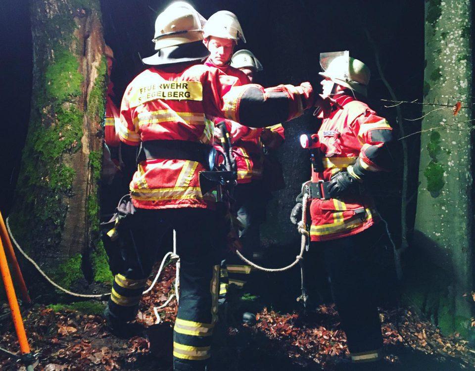 Feuerwehr Spiegelberg Übungsdienst