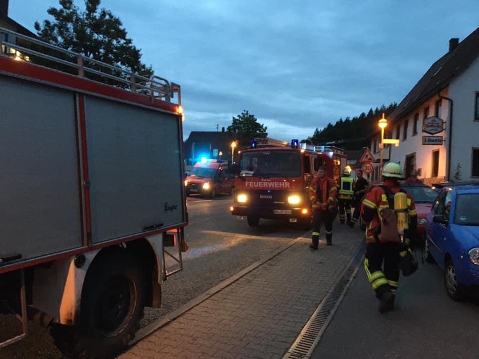 Privater Rauchwarnmelder Feuerwehr Spiegelberg