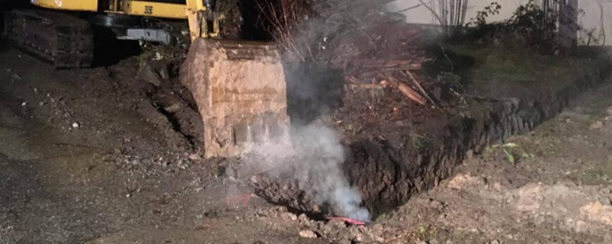 Kabelbrand Spiegelberg