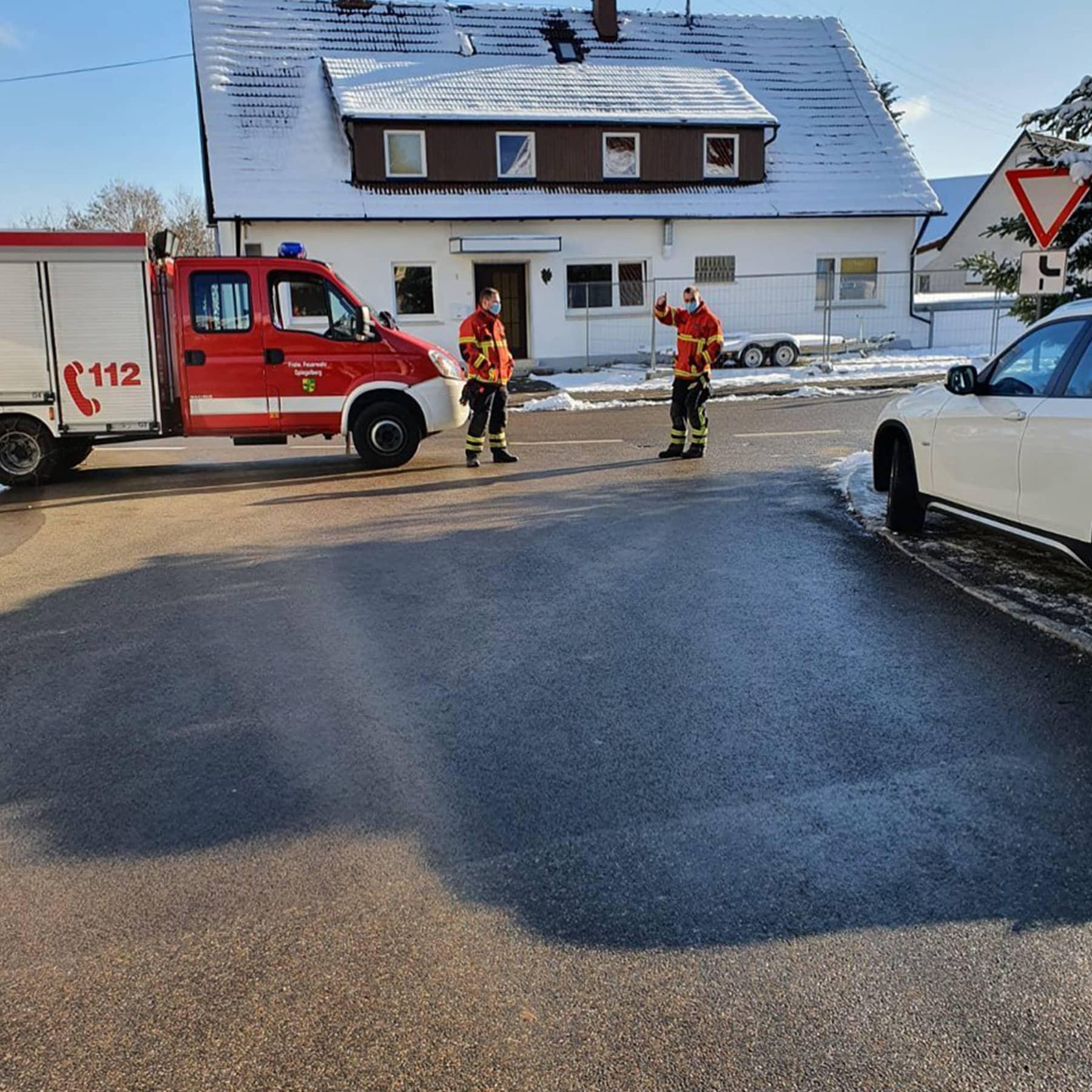 Verkehrsleitende Massnahmen Spiegelberg