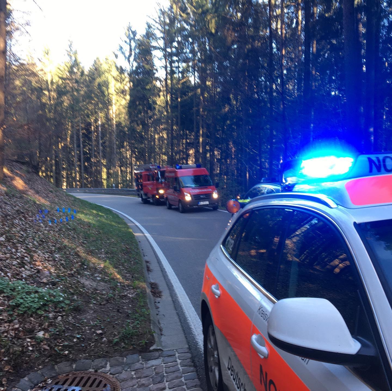 Verkkehrsunfall Spiegelberg